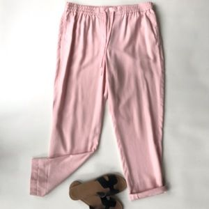 Talbots drawstring pants